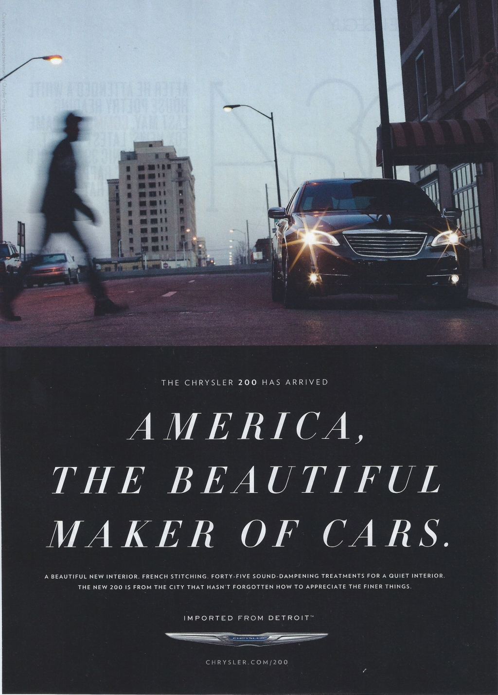 America the Beautiful Maker of Cars