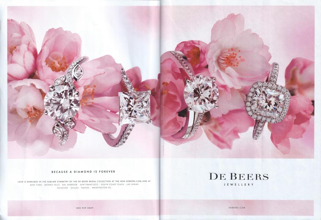 Flowers, Diamonds