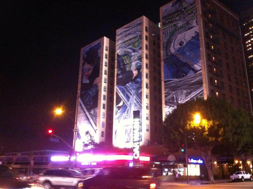 Night Painted Mural